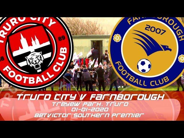 Truro City vs Farnborough FC | BetVictor Southern Premier League (01-02-2010)