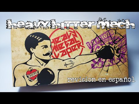 Heavy Hitter mech mod by tenacious TX, Heavy metal vaper y Timesvape