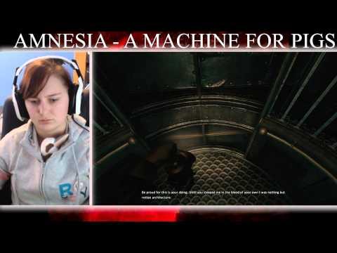 Amnesia A Machine For Pigs Walkthrough Part 7 FINAL EPISODE!!! - Electric Pigs!