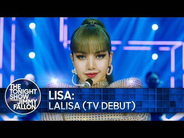 LISA: LALISA (TV Debut) | The Tonight Show Starring Jimmy Fallon