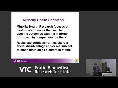 The Science of Minority Health and Health Disparities: NIMHD Perspective thumbnail