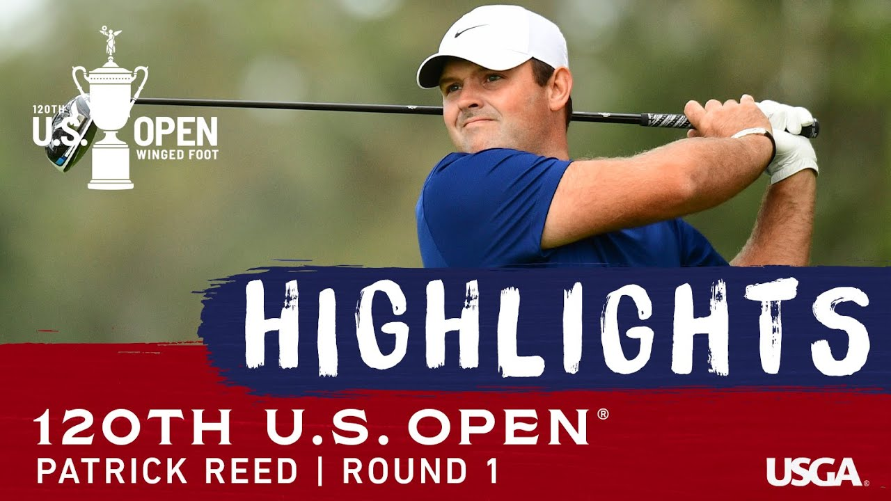 2020 U.S. Open, Round 1: Patrick Reed Highlights