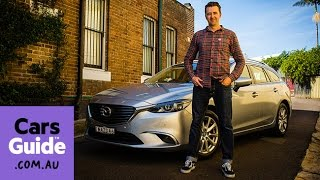 2016 Mazda 6 Touring Wagon review | road test video