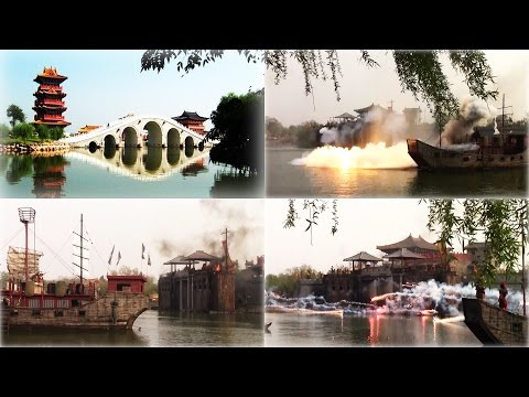 FORT ATTACK with Explosions! BATTLE of Ancient Chinese City KAIFENG! Live Action Entertainment