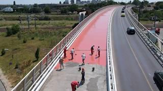 HYPERDESMO® 300 SYSTEM FOR BRIDGE DECK WATERPROOFING IN ROMANIA