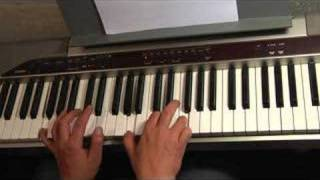 Slow Blues Piano in C - Piano blues exercise