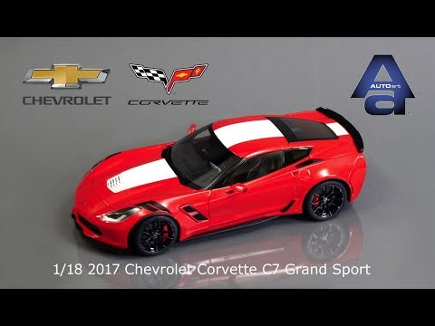 1/18 Autoart 2017 Chevrolet Corvette C7 Grand Sport