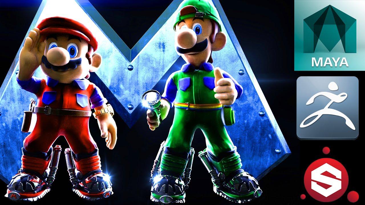 Super Mario Bros The Movie 3d Youtube