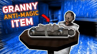 Granny BUILDS A NEW ANTI-MAGIC ITEM!!! (Super Powerful)   Granny The Mobile Horror Game (Story)