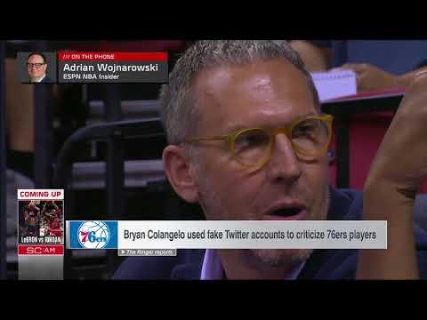 SVP, Stephen A., Jay Williams, Woj on Bryan Colangelo's Twitter burner accounts | ESPN Voices