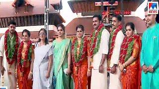 പഞ്ചരത്നങ്ങളിൽ മൂന്നുപേർ സുമംഗലികളായി; വിവാഹം ഗുരുവായൂരിൽ  | Thrissur Wedding