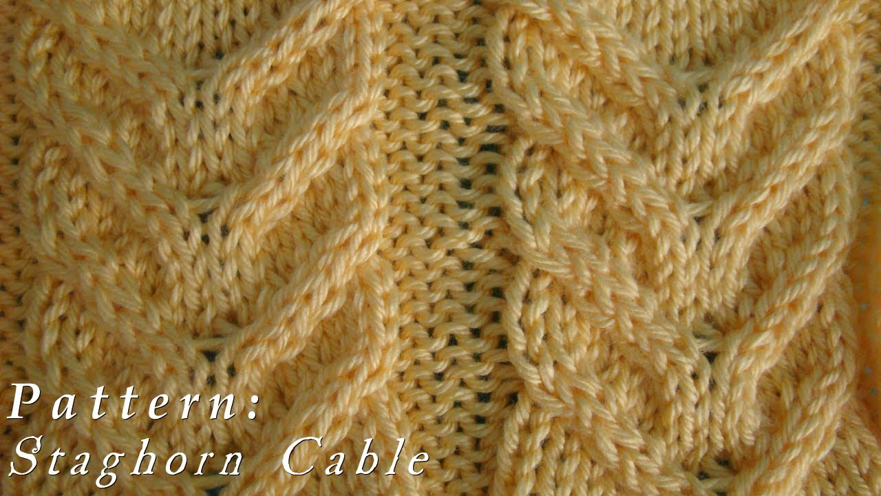 How to staghorn cable pattern youtube bankloansurffo Image collections
