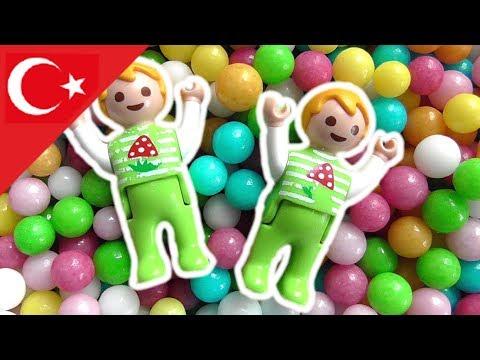 Playmobil Türkçe Top Havuzu - Hauser Ailesi - Çocuk filmi