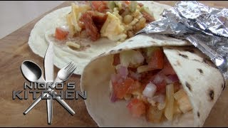 Breakfast Burritos - Nicko's Kitchen