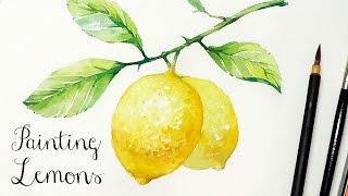 Painting Lemons - Real Time