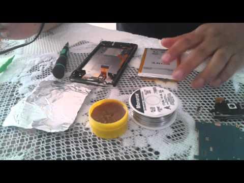 Solución reinicios infinitos Xperia Zl (jumper de bateria)