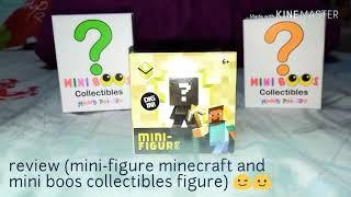 Mini-figure Minecraft and mini boos collectibles figure 🙂😉😊