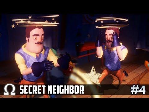 Secret Neighbor - THE NEIGHBOR GETS BULLIED! | #4 (Hello Neighbor Multiplayer) Ft. Friends
