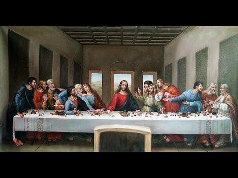 Leonardo Da Vinci La última Cena