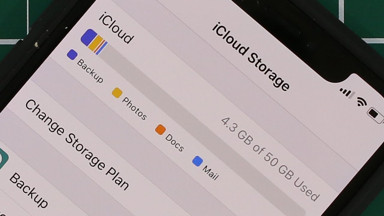 Increase Your IPhone ICloud Storage From 5GB To 50GB All IPhones