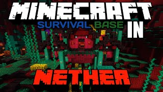 How To Download Nether Survival Base In Minecraft Pe || Technical Akubaba