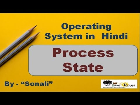 """OS - Unit 3 - Part 8 - """"Process State"""" by Sonali Timerays."""