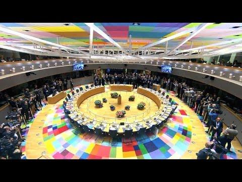 EU demonstriert London vor Brexit-Gesprächen Geschlossenheit