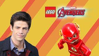 LEGO® MARVEL's Avengers Custom Character Creation Ep 1 Barry Allen (The Flash CW)