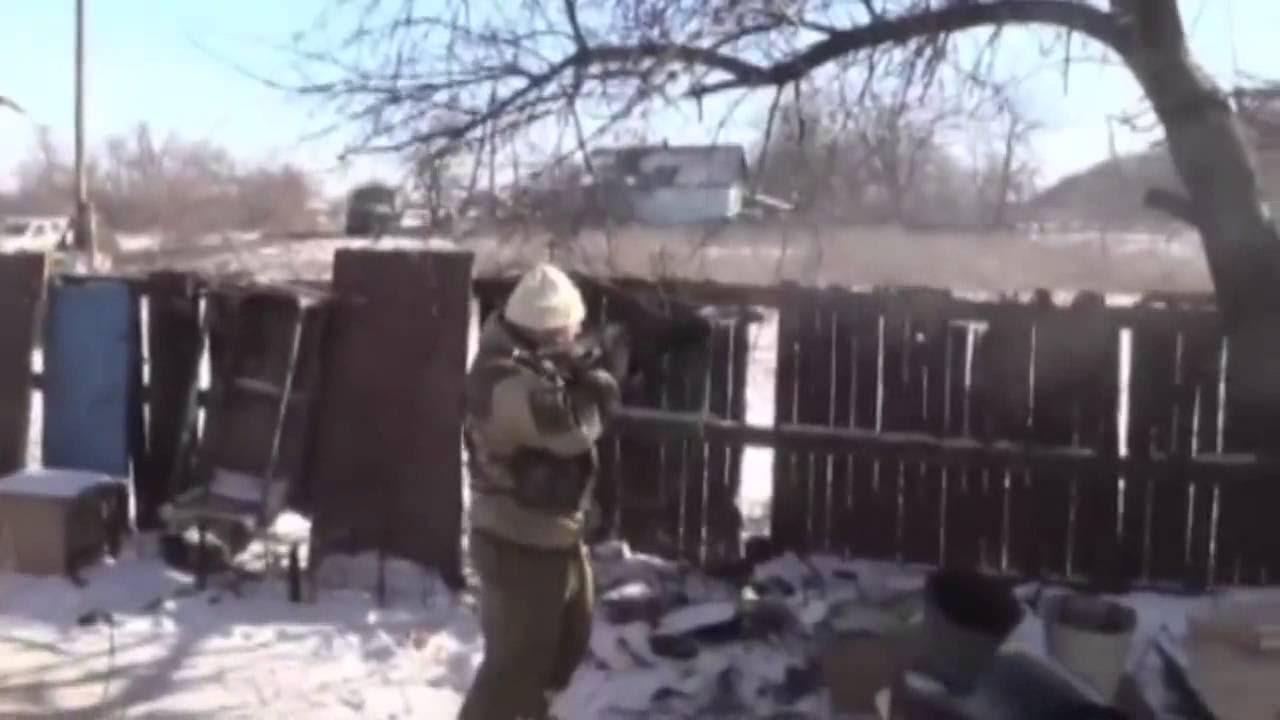 Видео ополченцев о боях в Дебальцево