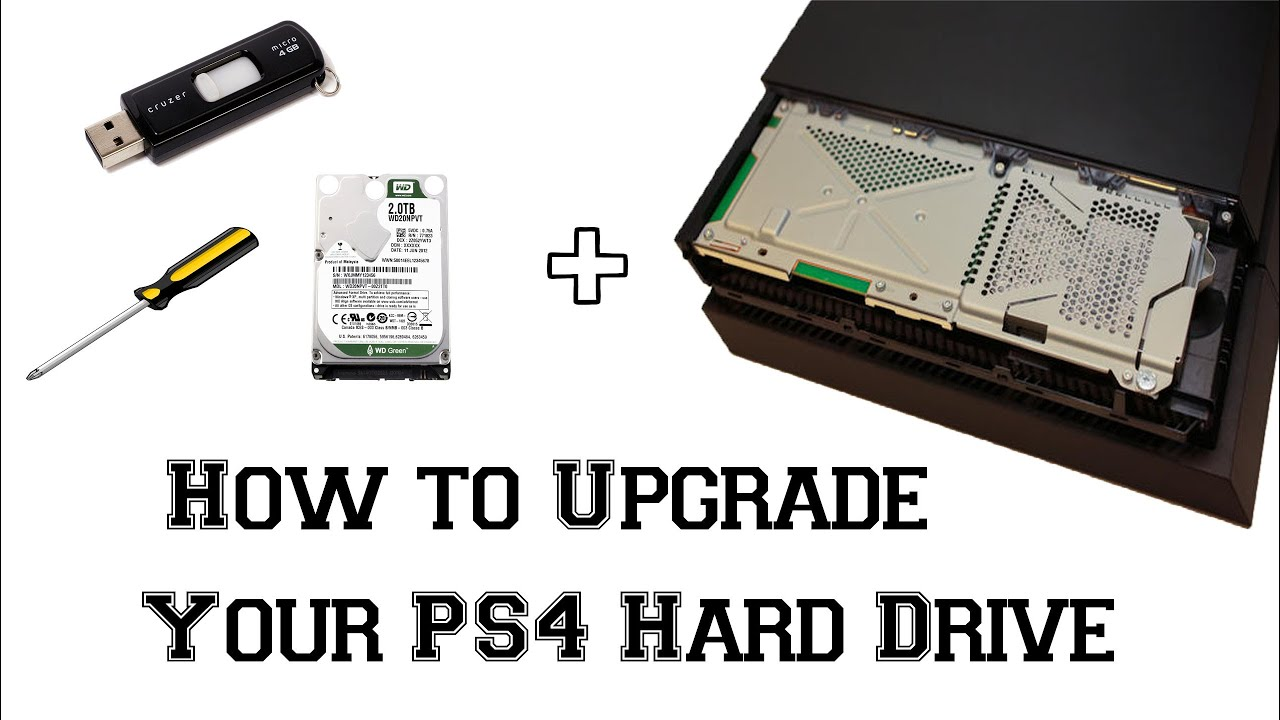 Hard Disk Esterni Ps4 How To Upgrade A Ps4 Hard Drive Game Boyz Youtube