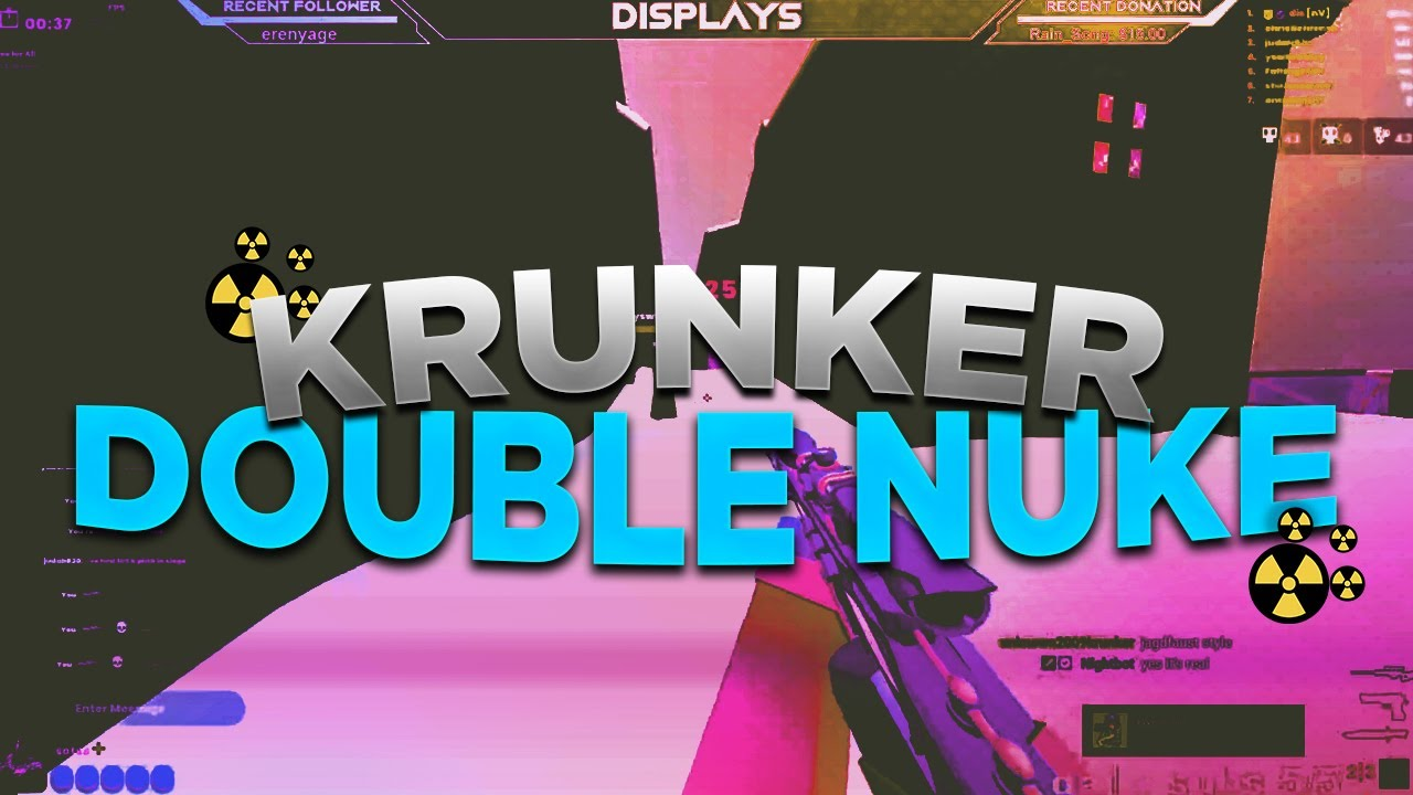 *Insane* Krunker Double Sniper Nuke (with weird ending)