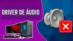 Como Baixar e instalar o Driver de áudio Realtek Para  Windows 7,8 e 10 todas as versões