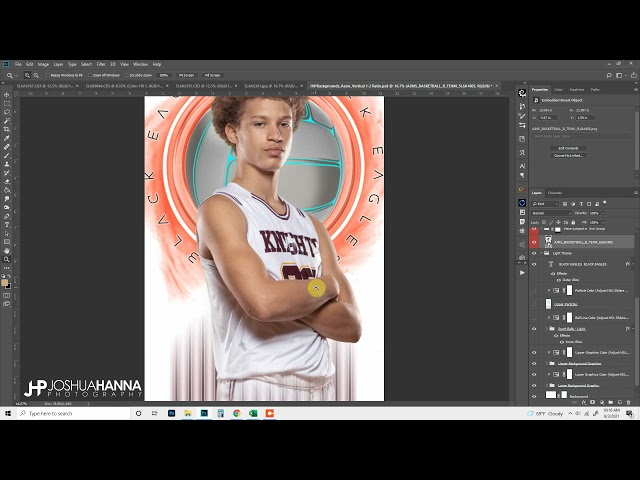 Aeon Photoshop Template Walkthrough - Joshua Hanna Photography