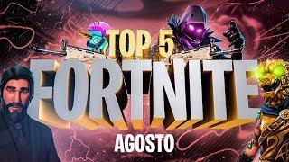 """TOP 5 FORTNITE - """"ESTE TÍO ES INMORTAL"""" - AGOSTO"""