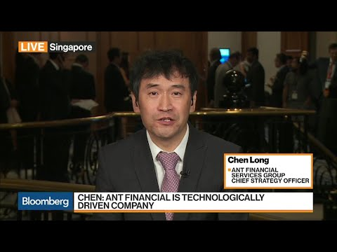 Ant Financial's Chen on Fintech in China, Alipay