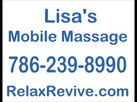 Lisas Mobile Massage in Pinecrest Miami FL