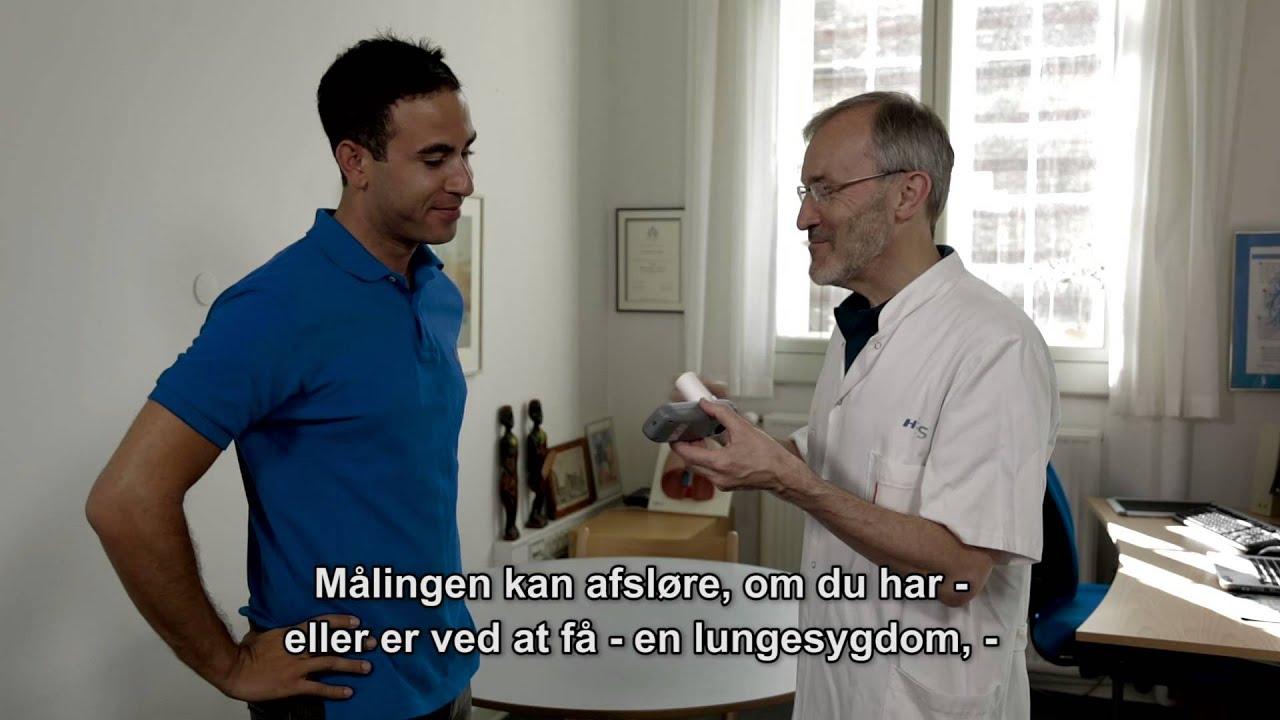 Lungefunktionsmåling