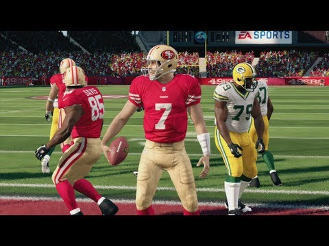 Packers vs 49ers Have Dramatic Finish in the 2013 NFL Season Opener - Madden 25 Online Gameplay