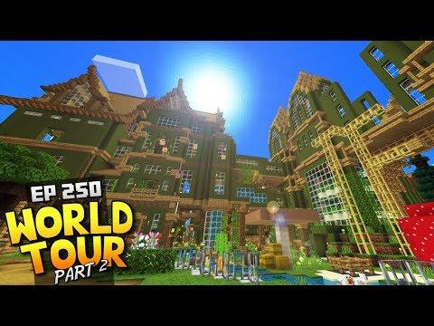 My Minecraft Survival World Tour! - Ep.250 : Part 2 + Download
