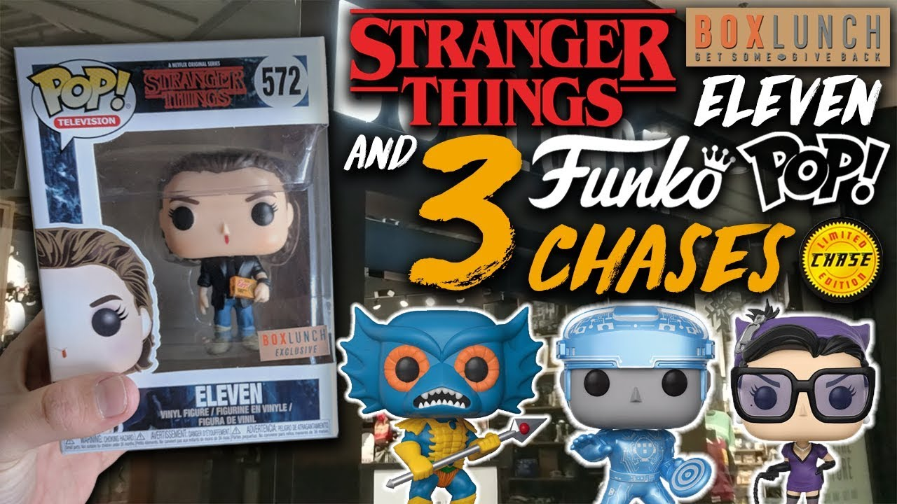 Stranger Things Eleven Exclusive 3 Chases Funko Pop Hunt