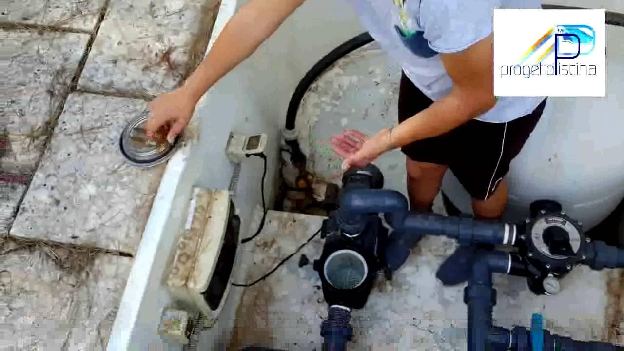 Tutorial sul lavaggio del filtro a sabbia di una piscina youtube - Filtro piscina a sabbia ...