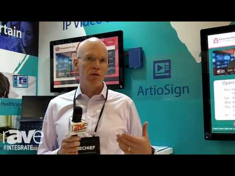 Integrate 2016: Exterity Adds ArtioSign, Demos Digital Signage Over IPTV on the Midwich AV Stand
