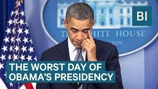 Pete Souza Recalls Sandy Hook— The Worst Day Of Obama's Presidency