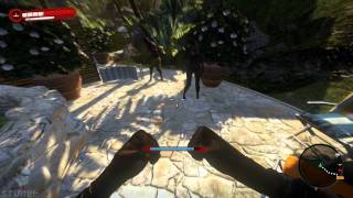 Dead Island - Analog Fighting with keyboard-mouse demonstration and randomness