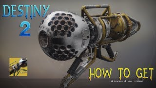 Destiny 2 HOW TO GET THE WARDCLIFF COIL EXOTIC ROCKET LAUNCHER