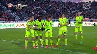 Футбол. РФПЛ. 26-й тур. Урал - ЦСКА 0:3 75' Алан Дзагоев