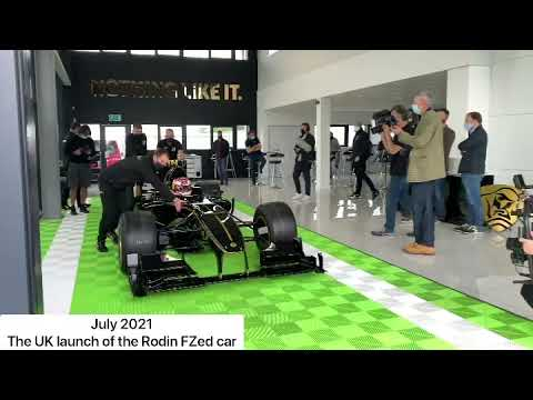 We went to the Rodin FZed launch at Donington with Liam Lawson (July 2021)
