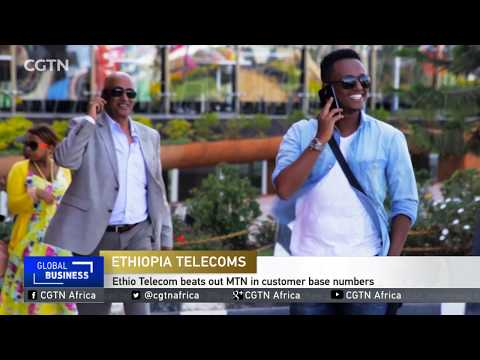 Ethiopia's Ethio Telecom beats out MTN in customer base numbers