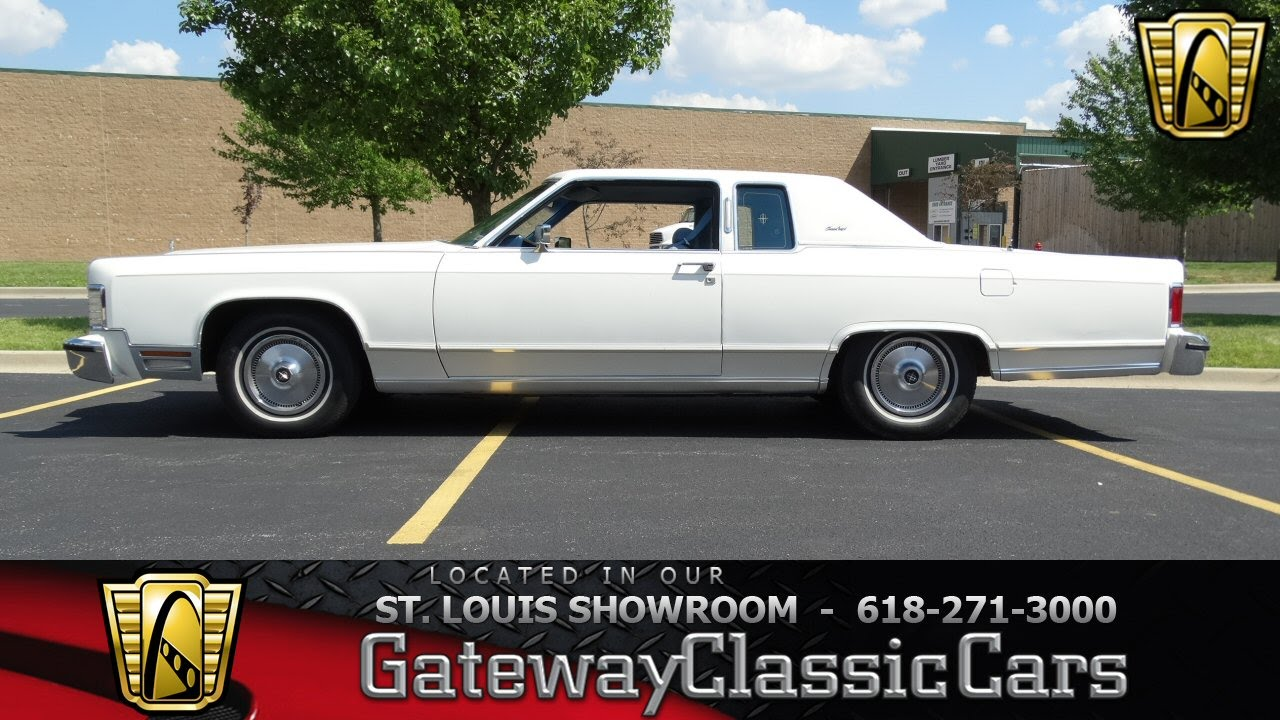6905 1978 Lincoln Town Coupe Gateway Classic Cars St Louis Youtube