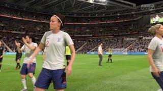 FIFA 19 coupe du monde féminin 1/4 de finale Angleterre - Nouvelle-Zélande
